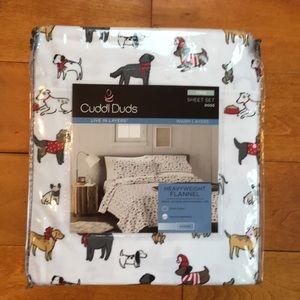 cuddl duds dog sheets